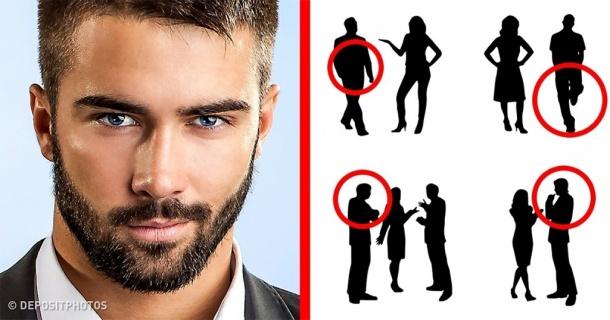 7 σημάδια της γλώσσας του σώματος των ανδρών που δείχνουν ότι τους αρέσει μια γυναίκα.
